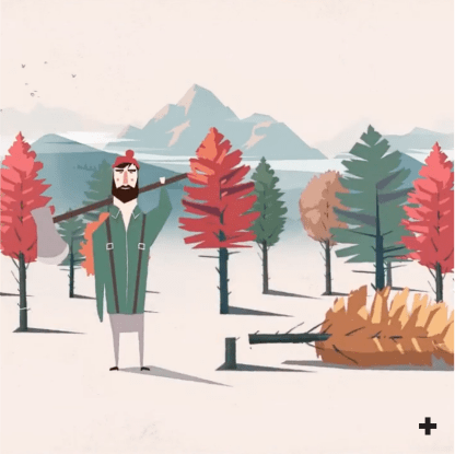 Projet vidéo Quebec Wood